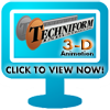 3D Animation of Thermoforming